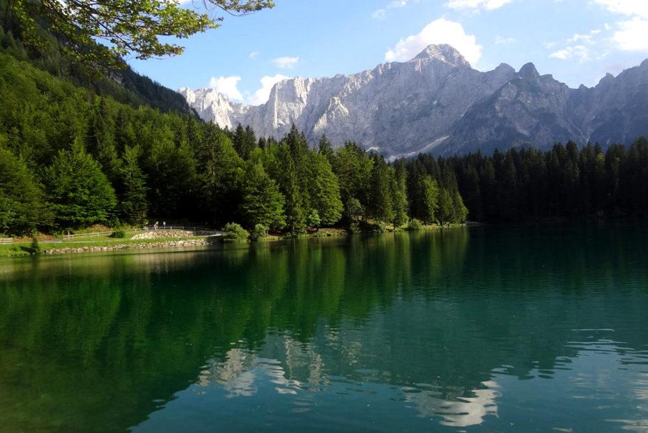 Фриули-Венеция-Джулия; Италия; Фузинские озера