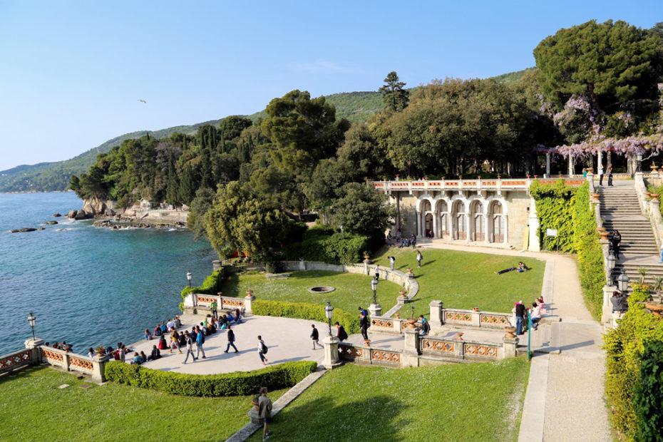 Замок Мирамаре; Фриули Венеция Джулия; Италия; Friuli Venezia Giulia